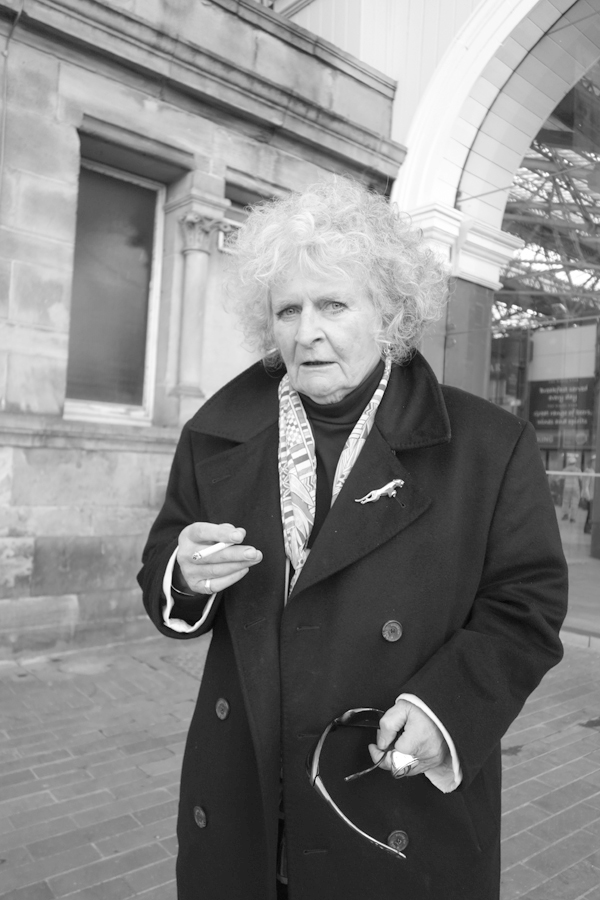Maggie Hambling. November Liverpool 2017.
