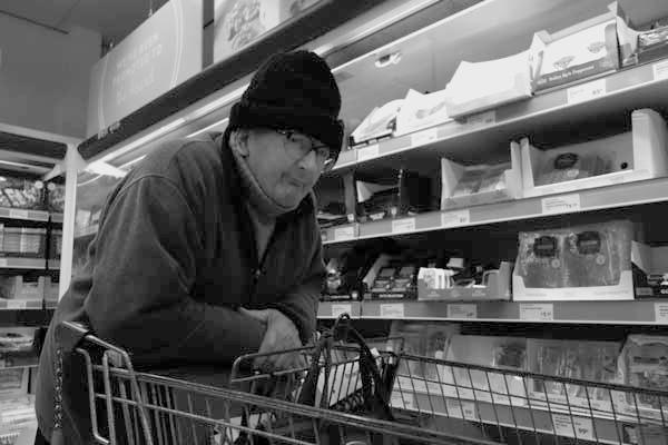 Supermarket in Old Swan. Liverpool, November 2017.