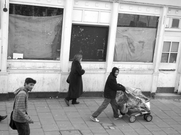 Mile End Road. East London 2010.