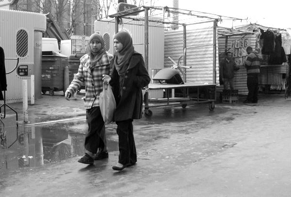 Whitechapel market. East London 2010.