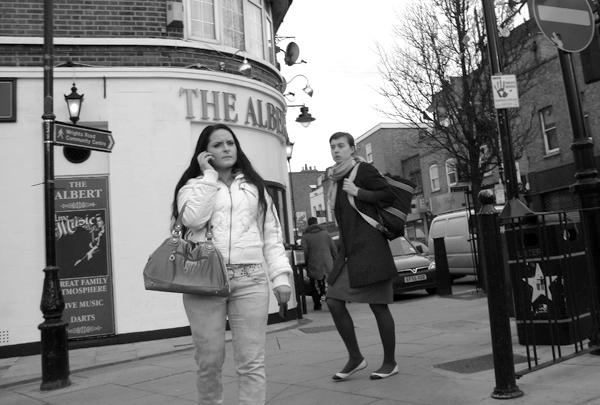 Near the Albert pub on the Roman Road. East London 2010.