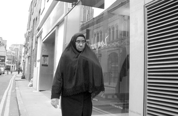 Fashion Street. East London 2010.