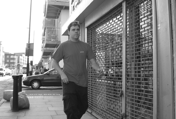 Commercial Road. East London August 2008.