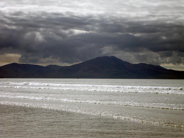 Waves on Banna beach. Ireland 2010.