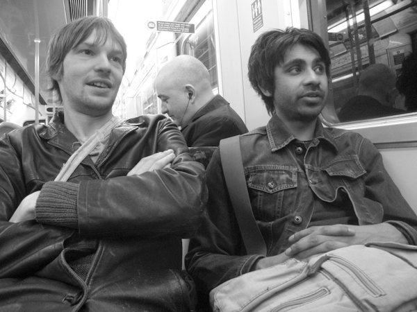 Richard & Hannan, Whitechapel station. East London, April 2010.
