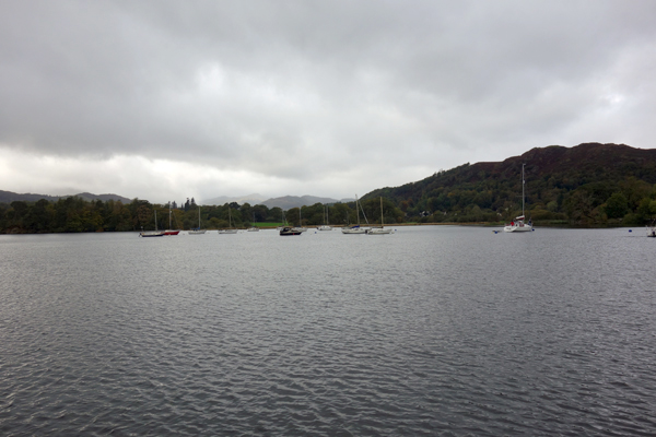 Lake Windermere. October 2017.