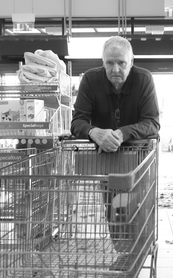Supermarket in Old Swan. Liverpool October 2017.