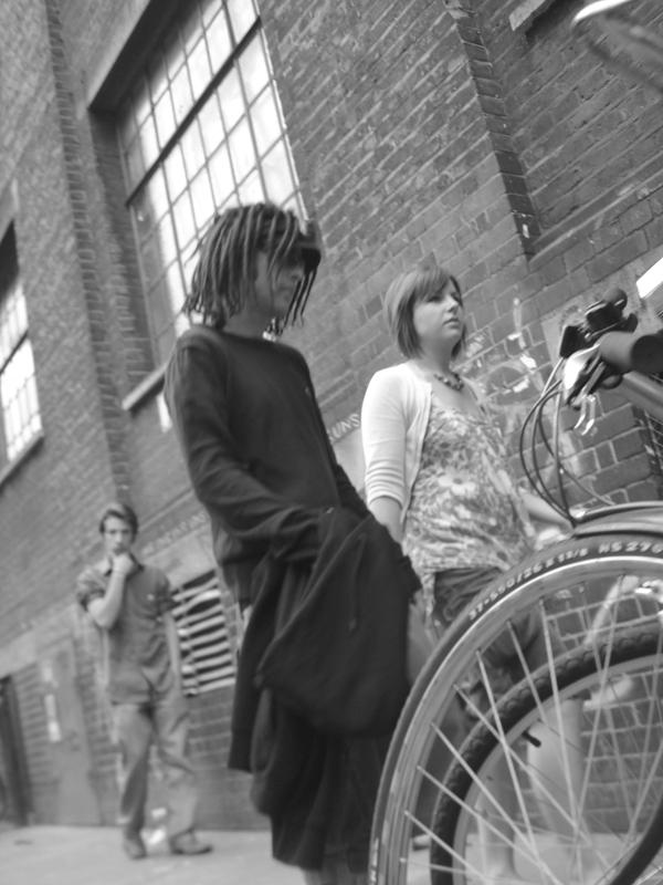 Brick Lane. East London, June 2007.