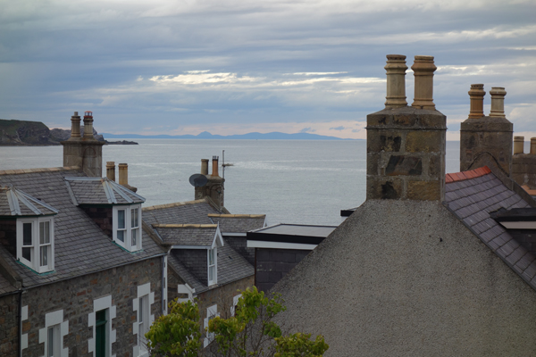 Chimneys in Cullen, August 2017.