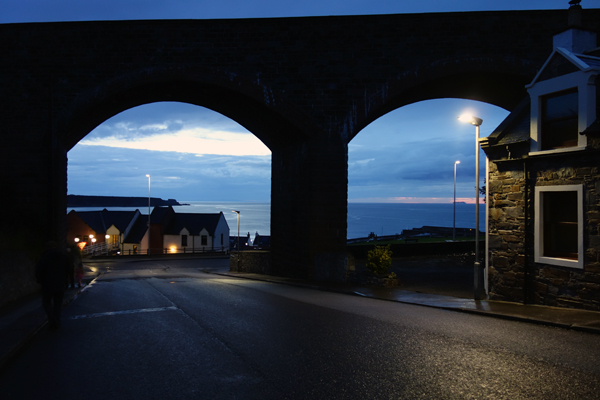 Viaduct in in Cullen, August 2017.