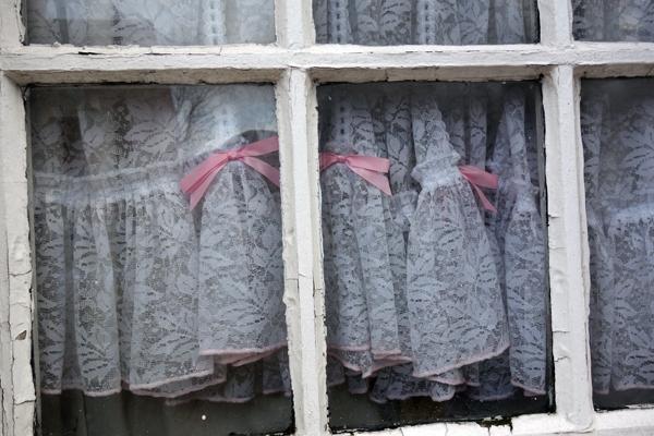 Window in Sandown Lane. Liverpool January 2018.