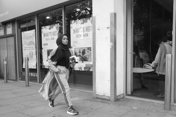 Fashion in Whitechapel. East London, September 2017.