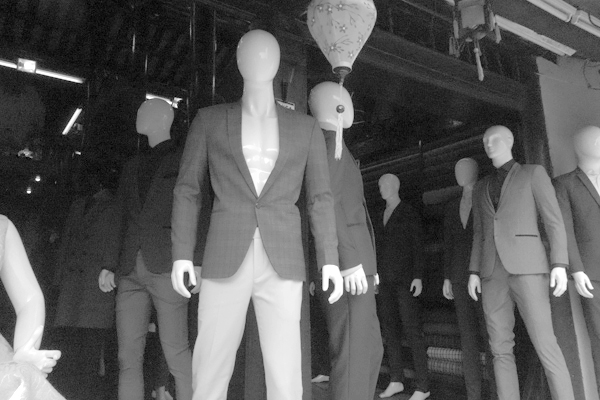 Clothes shop. Hoi An, Vietnam 2016.