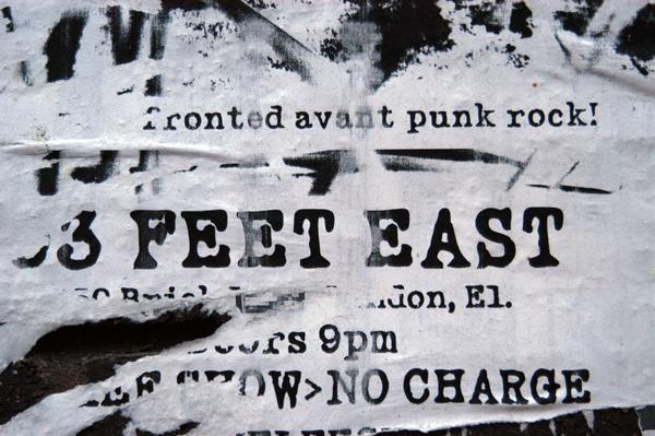 Avant Punk. Brick lane, December 2002.