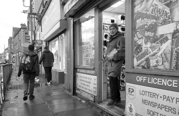 Wavertree High Street. Liverpool January 2018.