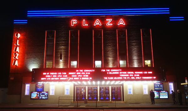 Cinema in Crosby was saved and restored after a long campaign. February 2nd 2018.