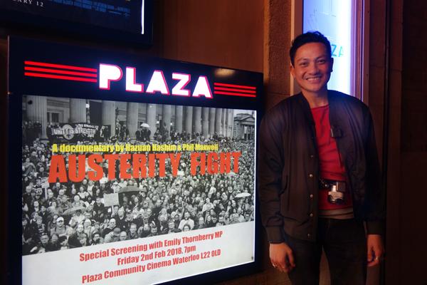 The Plaza Community Cinema in Crosby. February 2nd 2018.