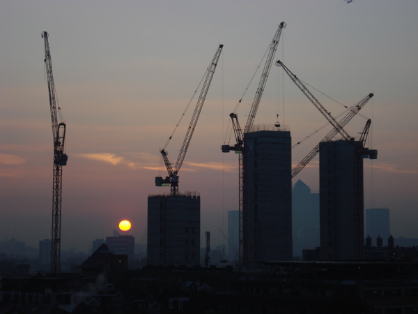 Sun rising from the East, 2005